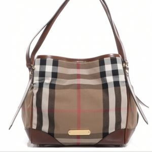 Authentic Burberry Tote, Canterbury House Check